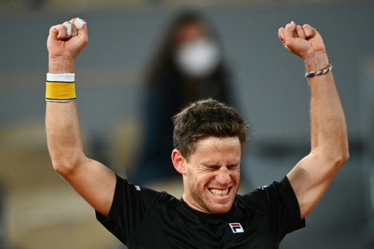 'Crazy' Schwartzman shocks Thiem in five hours to reach first Slam semi at Roland Garros