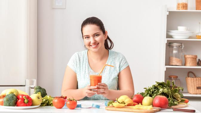 Buah dan sayur sangat baik untuk tubuh dan kesehatan/shutterstock.