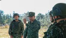 金防部實施戰術機動射擊 展勤訓精練成果