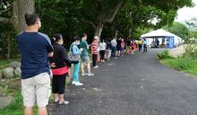 防堵疫情蔓延 竹東河濱公園進行最大規模普篩