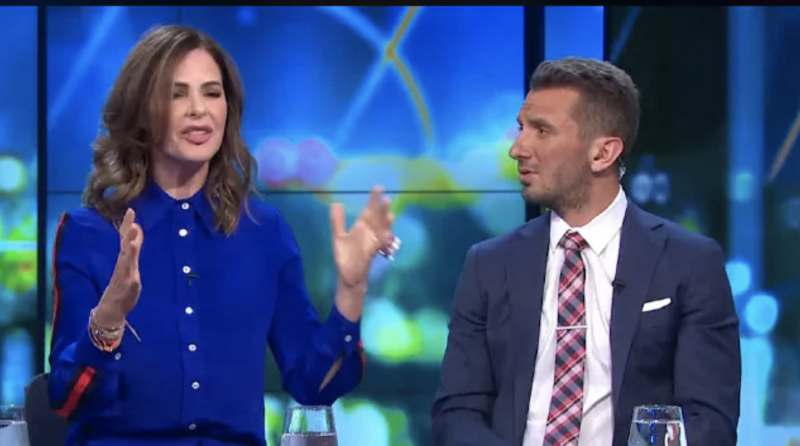 Tommy Little was among the hosts shocked at Trinny's on-air gaffe. Photo: Network 10