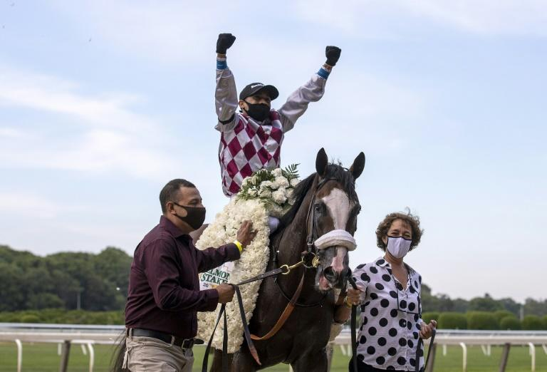 Belmont winner Tiz the Law takes Travers in Derby tuneup