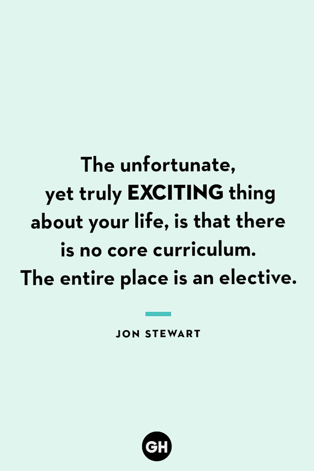 <p>The unfortunate, yet truly exciting thing about your life, is that there is no core curriculum. The entire place is an elective.</p>