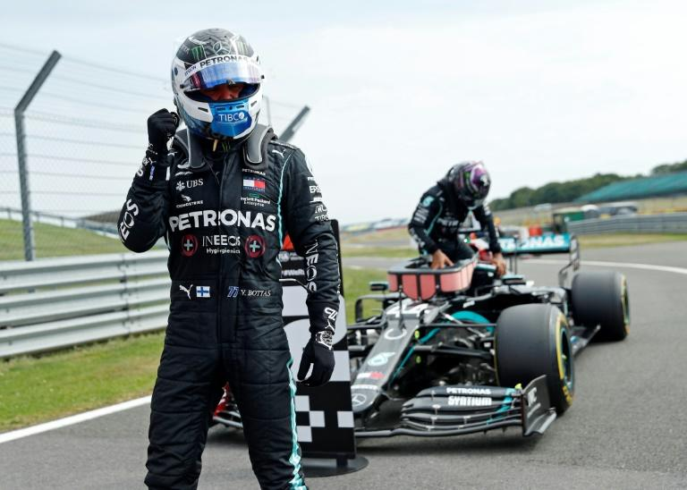 'It feels good': Bottas pips Hamilton for 70th Anniversary pole