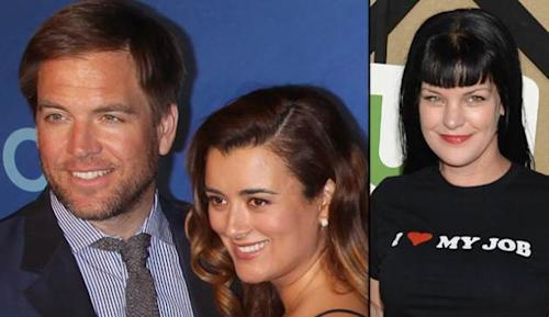 Michael Weatherly, Cote de Pablo and Pauley Perrette -- Getty Images