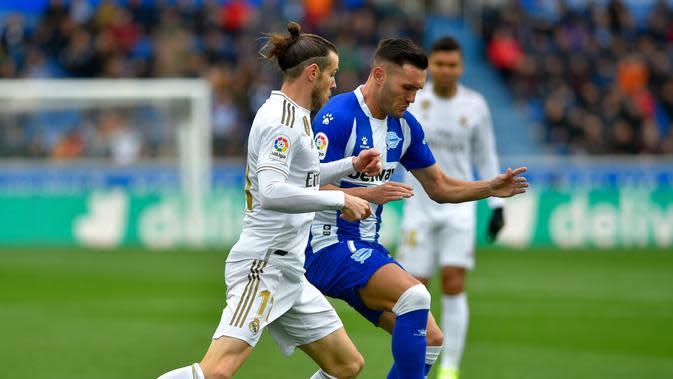 5. Lucas Perez (Alaves) - 11 Gol. (AFP/Ander Gillenea)