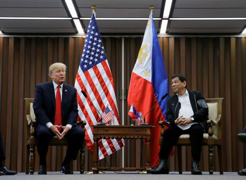 Philippines says U.S. lawmaker's bid to halt security aid won't succeed