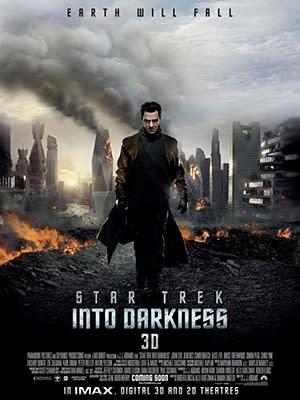 Benedict Cumberbatch Destroys the Planet in New 'Star Trek' Poster