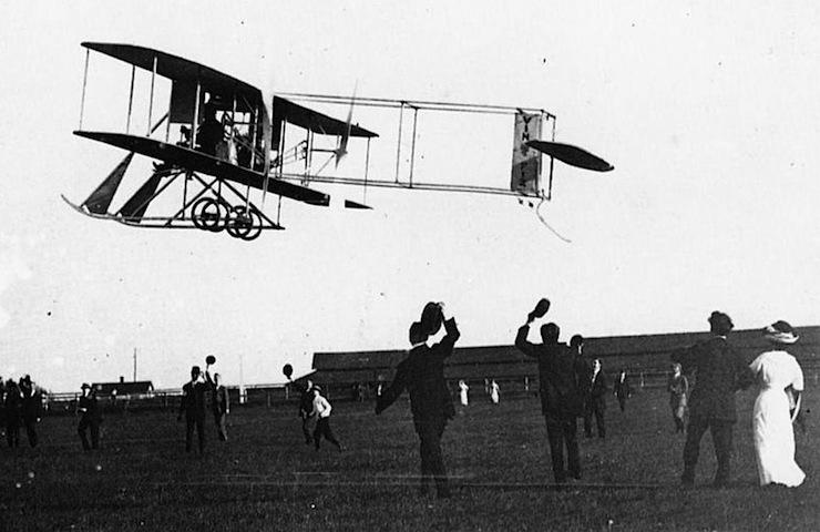 Dec. 10, 1911: Cal Rodgers completes first flight across U.S.