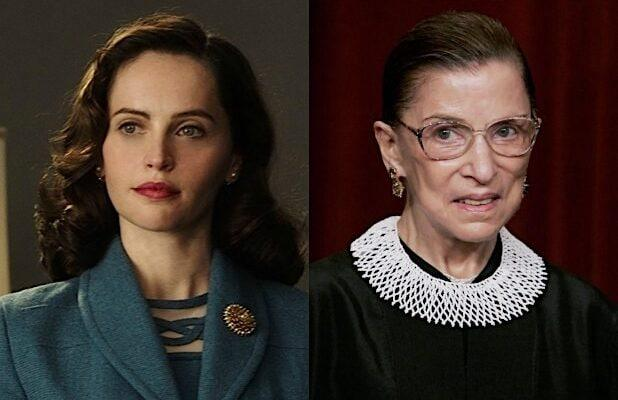 Felicity Jones Remembers Ruth Bader Ginsburg as 'Beacon of Light in These Difficult Times'