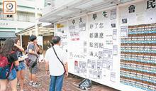 中大民主牆擬實名制 學生會轟侵自由