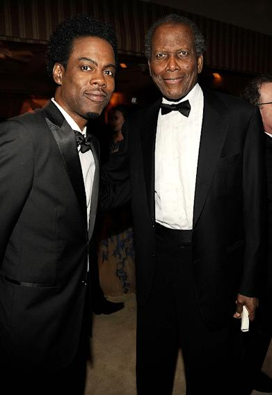 Chris Rock, Sidney Poitier