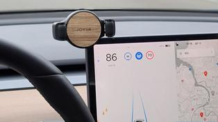 Jowua Model 3 手機車架開箱:480 度旋轉有多變觀賞角度,單手操作很 OK!