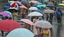 閃電颱風減弱為熱帶低壓!「7縣市」發布大雨特報 北台氣溫明驟降9度
