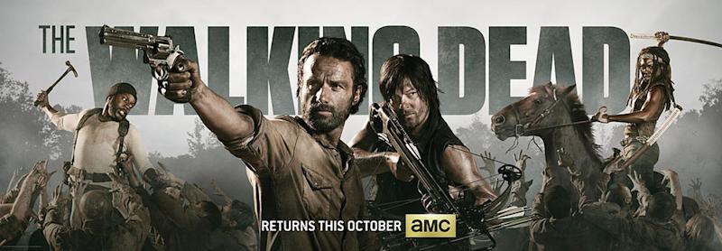 'Walking Dead' Season 4 Poster Revealed [Photo]