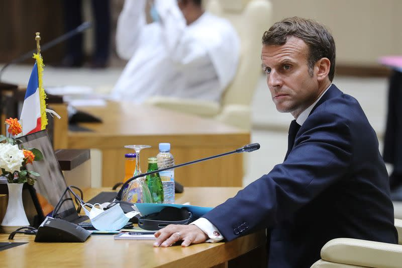 France's Macron says recent 'spectacular' results make victory in Sahel possible