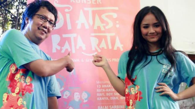 Gaet Lyodra, Erwin dan Gita Gutawa Bikin Konser Buat Anak