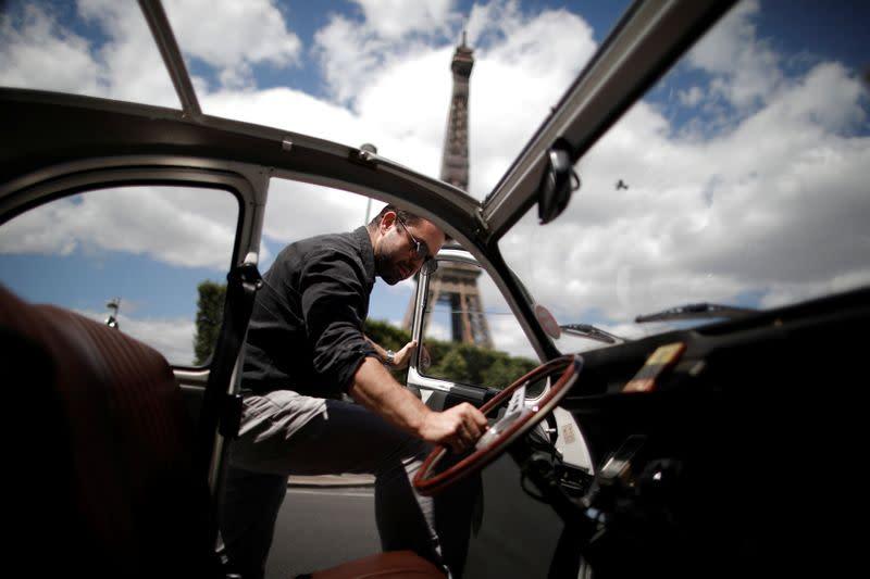 Paris iconic 2CV tours feel brunt of COVID-19 impact on tourism