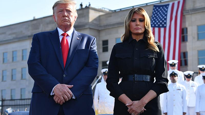 Melania Trump is under fire for her memorial tweet. Photo: Getty Images