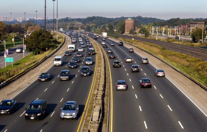 highway median