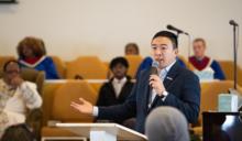 台裔企業家楊安澤宣布參選紐約市長 《黑天鵝》名導演拍片相挺