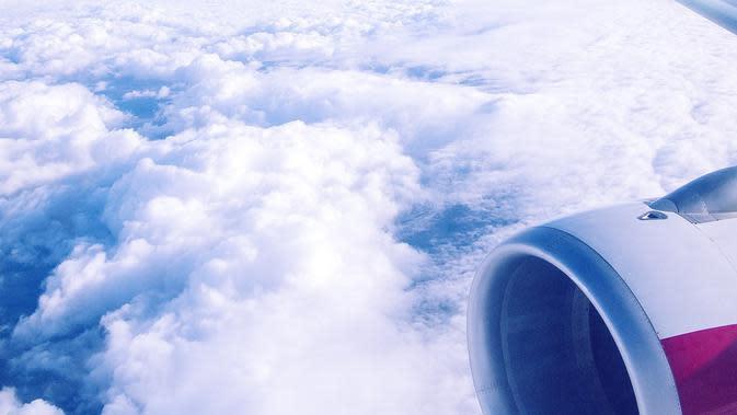 Ilustrasi pesawat. (dok. epicantus/Pixabay/Tri Ayu Lutfiani)