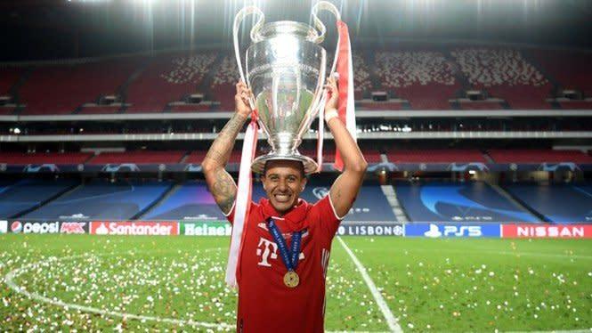 Liverpool dan Bayern Sepakati Transfer Thiago Alcantara