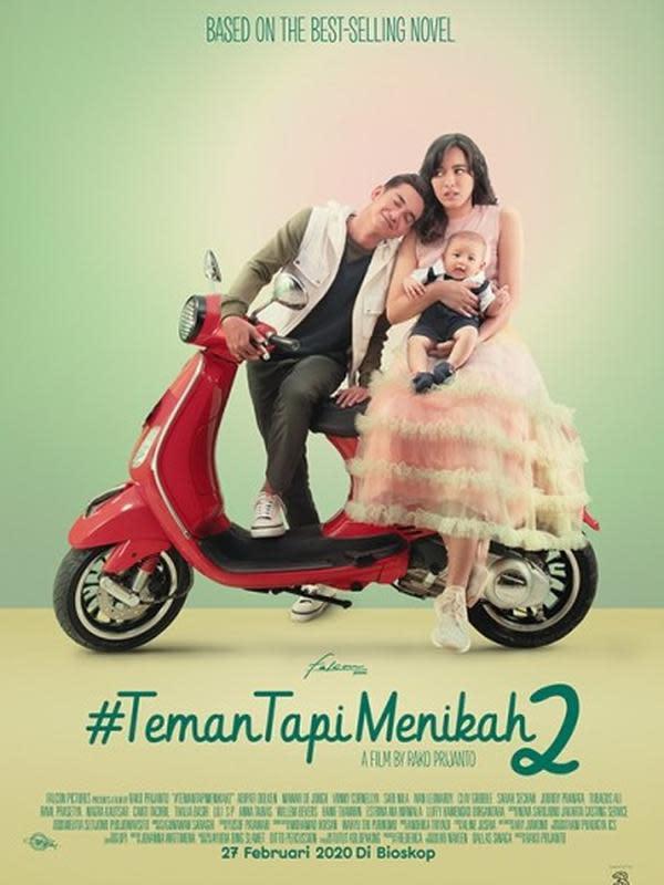 Poster film Teman Tapi Menikah 2. (Foto: Dok. Falcon Pictures)
