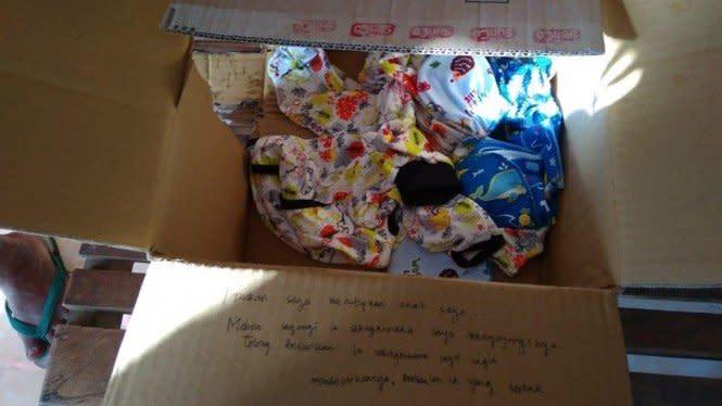 Bayi Dibuang di Teras Warga, Ada Pesan Menyentuh