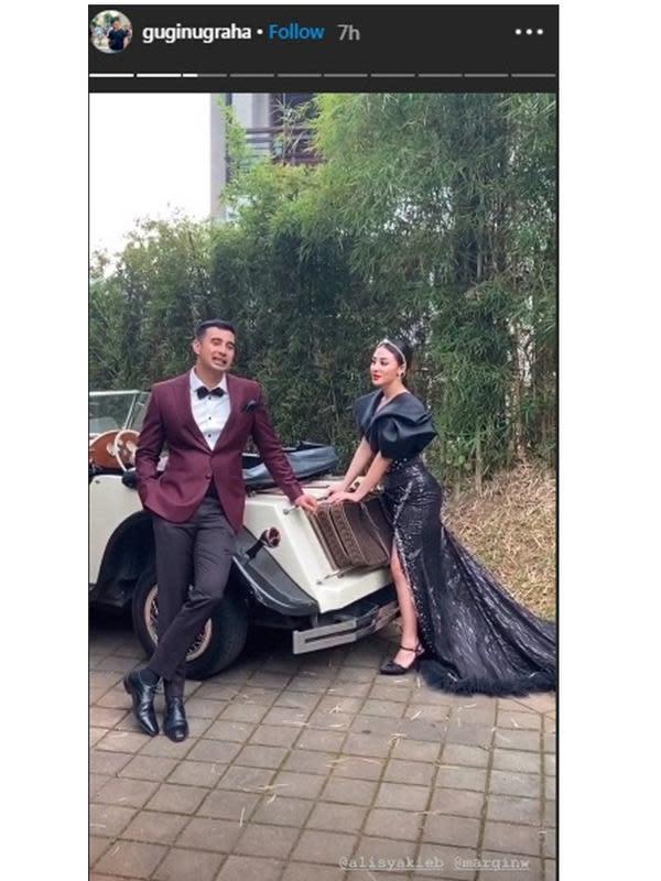 Prewedding Ali Syakieb dan kekasih (Sumber: Instagram/guginugraha)