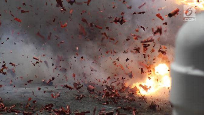 Ilustrasi ledakan bom (iStockPhoto)