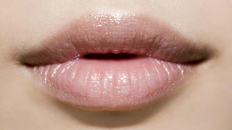Women are gluing their top lips in a bid to achieve a plumper pout Photo: Getty
