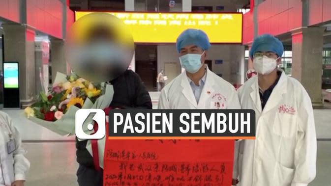 VIDEO: Diklaim Sembuh, 103 Pasien Virus Corona dipulangkan