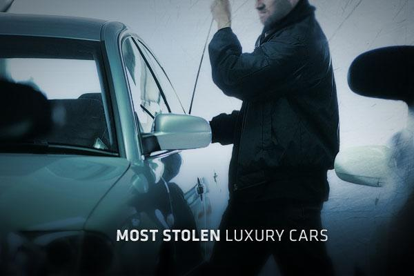 Most stolen luxury cars