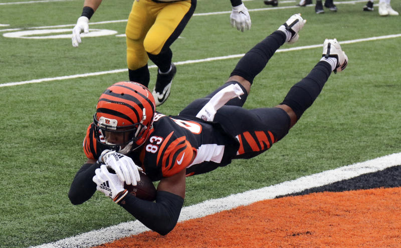 The Cincinnati Bengals and receiver Tyler Boyd have reportedly agreed to a 4-year contract extension. (AP)