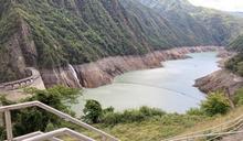 德基水庫水位持續上升 (圖)