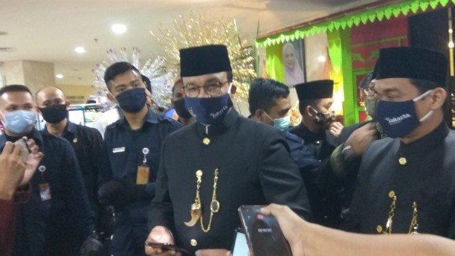 Gubernur Anies Rayu Daerah Lain Terapkan Lagi PSBB Total