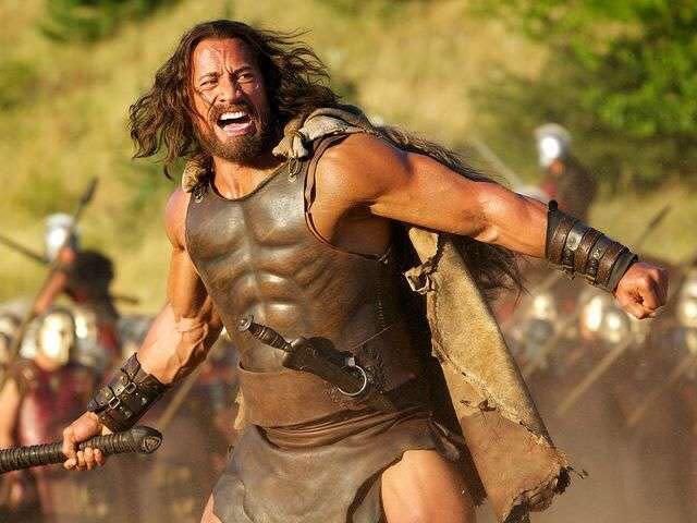 The Rock Wears Beard Made of Real Yak Hair, Transforms Into 'Hercules'