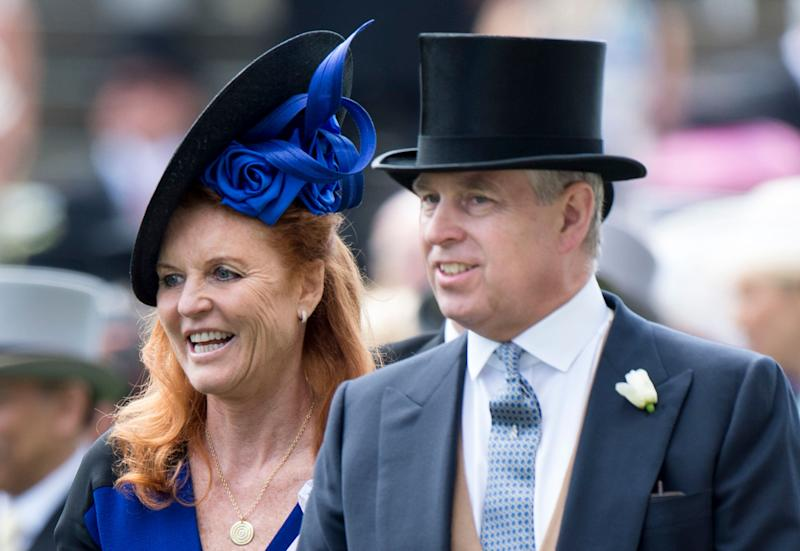 Sarah Ferguson and Prince Andrew have sparked wedding rumours