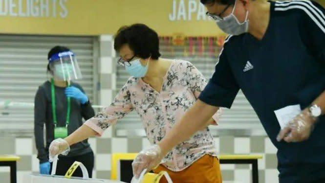 Singapura Gelar Pemilihan Umum Hari Ini di Tengah Pandemi COVID-19