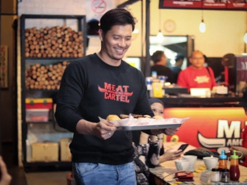 Fattah Amin is happy with the launch of the Meat Cartel franchise.