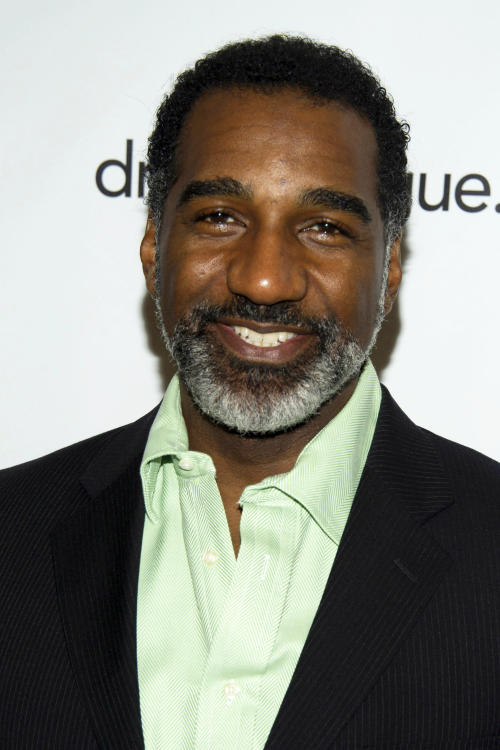 "FILE - This May 18, 2012 file photo shows actor Norm Lewis at the 78th Annual Drama League Awards in New York. Lewis has been tapped to be Broadway's next Phantom in the megahit ""The Phantom of the Opera,"" a move that makes him the first African American to slip behind the famous mask. (AP Photo/Charles Sykes, File)"
