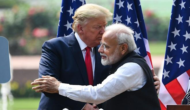 """Narendra Modi's plans for a """"Indo-Pacific Oceans Initiative"""" echo Donald Trump's strategy for the region. Photo: AFP"""