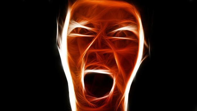 Ilustrasi kemarahan. (Sumber Pixabay/geralt via Creative Commons)