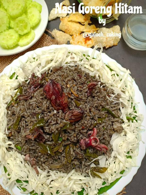 ilustrasi resep makanan berbahan dasar bumbu hitam yang gurih dan enak/Instagram: @galoeh_cooking