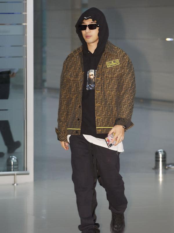 Taeyang BIGBANG Fendi/dok. Fendi