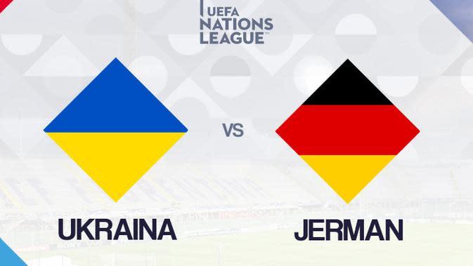 UEFA Nations League: Ukraina vs Jerman. (Bola.com/Dody Iryawan)