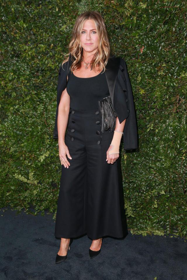 <p>Wearing Chanel. <em>[Photo: Getty]</em> </p>