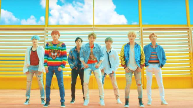 Video klip BTS DNA