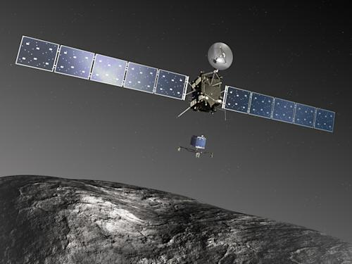 Comet-Chasing Rosetta Spacecraft Wakes from Deep Sleep Monday: Watch It Live